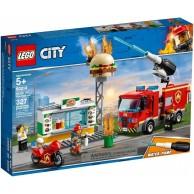 LEGO Klocki City Na ratunek w płonącym barze City Lego