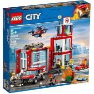 LEGO Klocki City Remiza strażacka City Lego