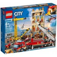LEGO Klocki City Straż pożarna w śródmieściu 60216 City Lego