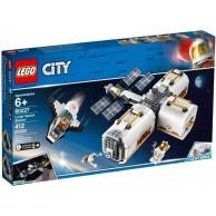 LEGO Klocki City Stacja kosmiczna na Księżycu 60227
