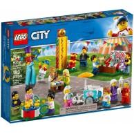 LEGO Klocki City Wesołe miasteczko - zestaw minifigurek 60234
