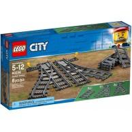 LEGO Klocki City Zwrotnice 60238