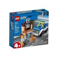 LEGO Klocki City Oddział policyjny z psem 60241