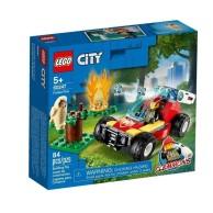 LEGO Klocki City Pożar lasu 60247