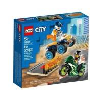 LEGO Klocki City Ekipa kaskaderów 60255