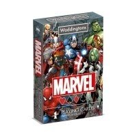 Waddingtons: Marvel Universe karty do gry Talie Tradycyjne Winning Moves GmbH