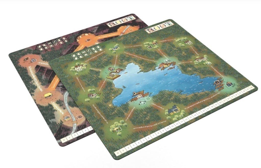 Root: Playmat Mountain / Lake
