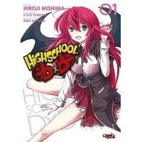 Highschool DxD - 1 Shounen Osiem macek