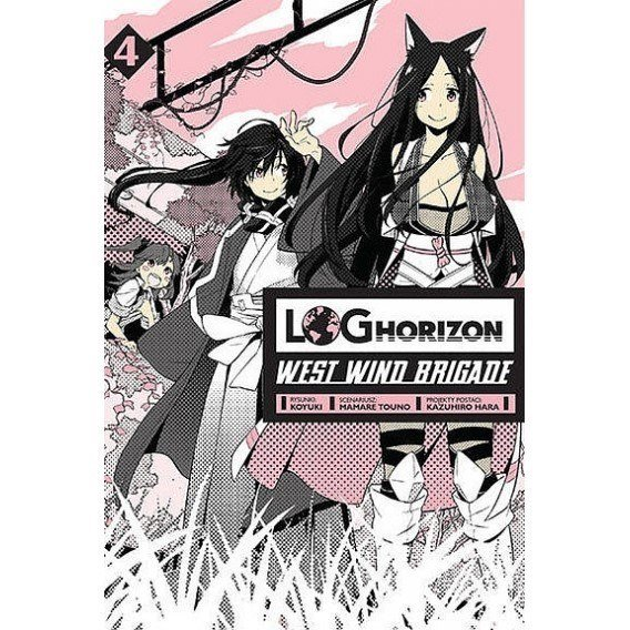 Log Horizon. West Wind Brigade - 4 Shounen Studio JG