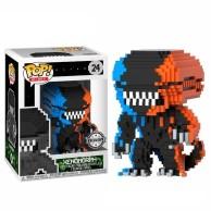 Figurka Funko POP: 8-Bit POP: Horror - Alien 2-Tone Orange/Blue 24 Funko - Różne Funko - POP!