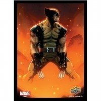 Marvel Card Sleeves - Wolverine (65 Sleeves) Pozostałe Upper Deck Entertainment