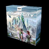 Solar City + budynek Crown - karta + 9 żetonów Strategiczne IUVI Games