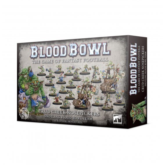 BLOOD BOWL: CRUD CREEK NOSEPICKERS TEAM Blood Bowl Games Workshop