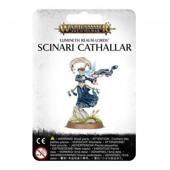 LUMINETH REALM-LORDS: SCINARI CATHALLAR Lumineth Realm-lords Games Workshop