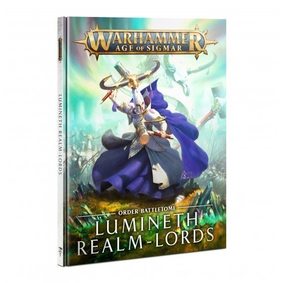 BATTLETOME:LUMINETH REALM-LORDS (HB) ENG Lumineth Realm-lords Games Workshop