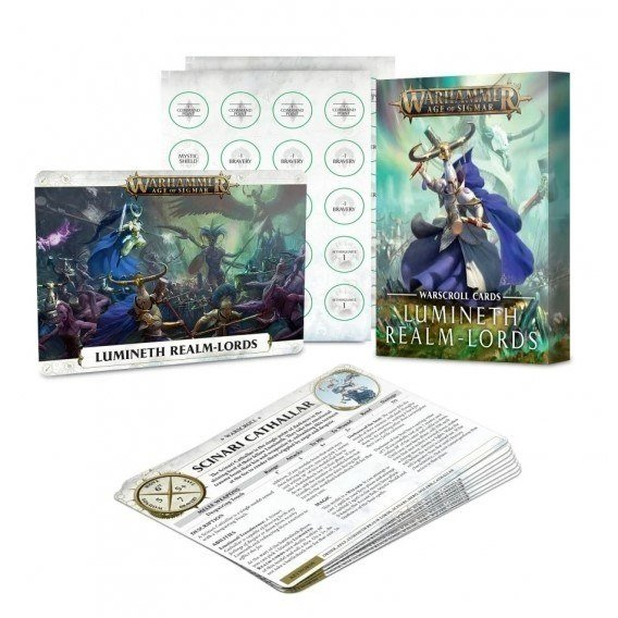 WARSCROLL CR: LUMINETH REALM-LORDS (ENG) Lumineth Realm-lords Games Workshop