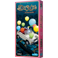 Dixit 10: Zwierciadła + karta promo Dixit Rebel