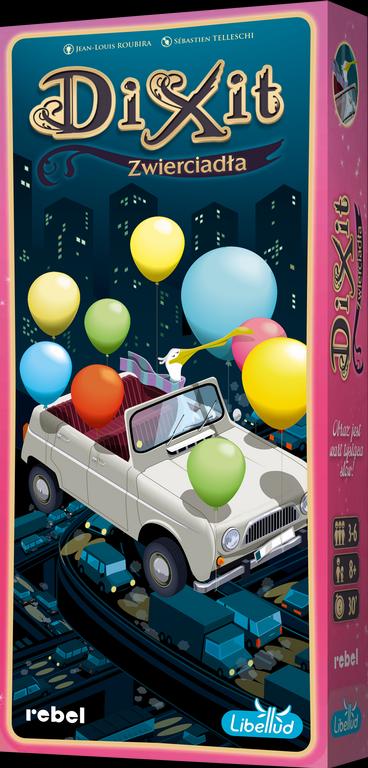 Dixit 10: Zwierciadła + karta promo