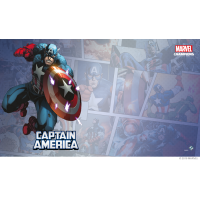 Marvel Champions: Captain America Game Mat Fantasy Flight Games Fantasy Flight Games