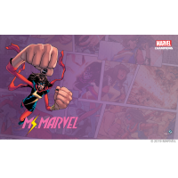 Marvel Champions: Ms. Marvel Game Mat Fantasy Flight Games Fantasy Flight Games