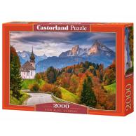 Puzzle 2000 el. Jesień w Alpach Bawarskich, Niemcy