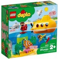 LEGO Klocki DUPLO Przygoda w łodzi podwodnej 10910