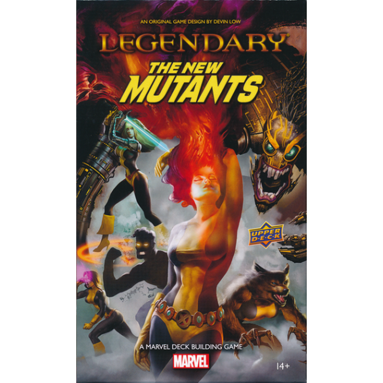 Legendary: A Marvel Deck Building Game – The New Mutants Pozostałe gry Upper Deck Entertainment