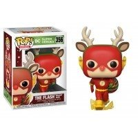 Figurka POP Heroes: DC Holiday - Rudolph Flash 356