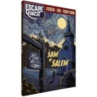Escape Quest: Sam w Salem. Książka z łamigłówkami Gry Paragrafowe Egmont