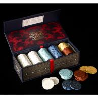 Iron Clays - Luksusowe żetony do gier (100szt) Pozostałe gry Roxley Games
