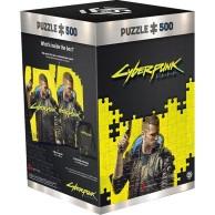 Good Loot Puzzle Cyberpunk 2077 Keyart male V (500 elementów)