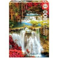 Puzzle 1000 el. Leśny wodospad