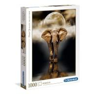 Puzzle 1000 HQ The Elephant Zwierzęta Clementoni