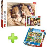 Zestaw puzzli dla dzieci Zwierzęta Trefl