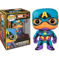 Figurka Funko POP Marvel: Black Light Captain America 648