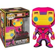 Figurka Funko POP Marvel: Black Light Iron Man 649