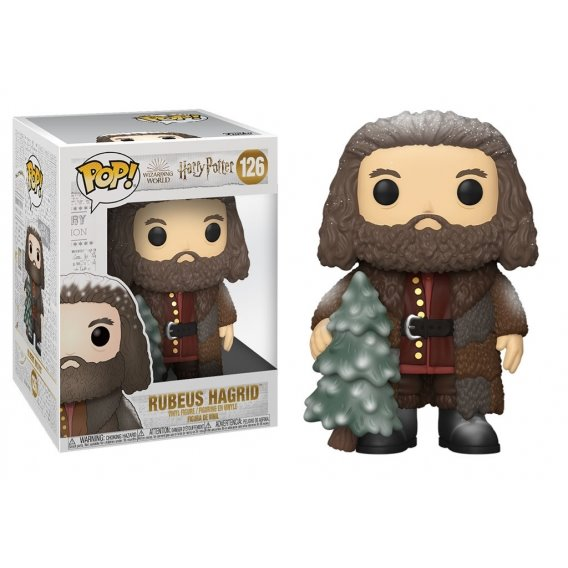 "Figurka Funko POP: Harry Potter Świąteczne 6\"" Hagrid - 126 Funko - Harry Potter Funko - POP!"