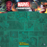 Marvel Champions: Red Skull 1-4 Player Game Mat Fantasy Flight Games Fantasy Flight Games