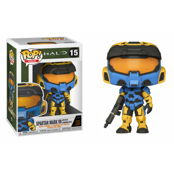 Figurka Funko POP Games: Halo Infinite - Spartan Mark VII Camo (with VK78 Commando Rifle) 15 Funko - Games Funko - POP!