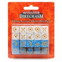 Warhammer Underworlds: Grand Alliance Order Dice Pack Warhammer Underworlds Games Workshop