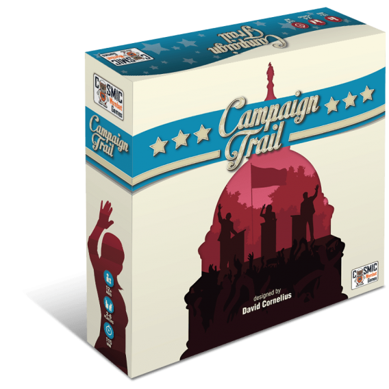 Campaign Trail: Deluxe Second Edition and Green Party expansion ( edycja kickstarter ) Przedsprzedaż