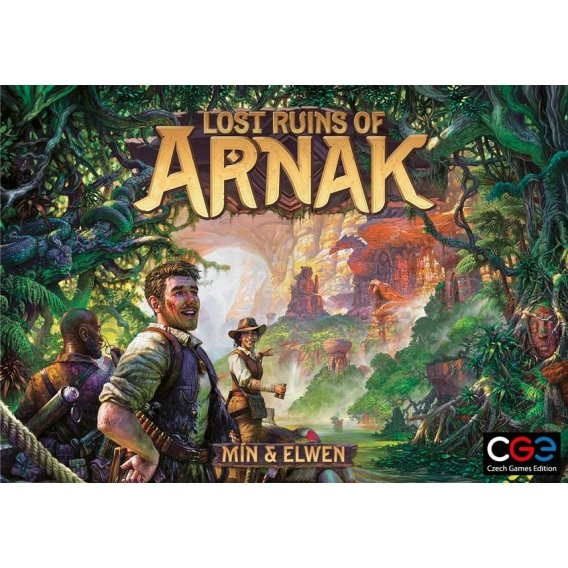 Lost Ruins of Arnak Strategiczne Czech Games Edition