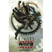 Aliens vs. Predator vs. Terminator Komiksy science-fiction Scream Comics