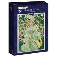 Puzzle 1000 Marzenie, Mucha Malarstwo bluebird puzzle
