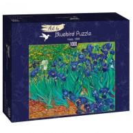 Puzzle 1000 Irysy Vincent van Gogh Malarstwo bluebird puzzle