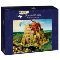 Puzzle 1000 Wieża Babel, Brueghel Malarstwo bluebird puzzle