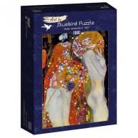 Puzzle 1000 Wodne serpentyny, II Gustav Klimt Malarstwo bluebird puzzle