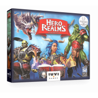 Hero Realms: Gra karciana (nowa edycja) + karty promocyjne i liczniki życia Hero Realms IUVI Games
