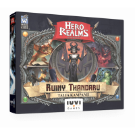 Hero Realms: Ruiny Thandaru + karty promocyjne i liczniki życia Przedsprzedaż IUVI Games