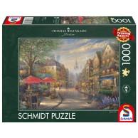 PQ Puzzle 1000 el. THOMAS KINKADE Kawiarenka w Monachium Pejzaże Schmidt Spiele